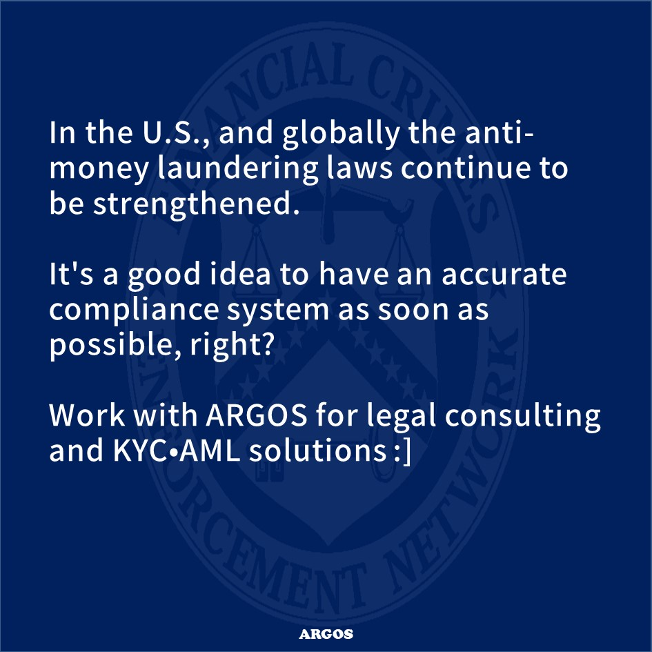 FINCEN Cryptocurrency guidelines   Argos Solutions