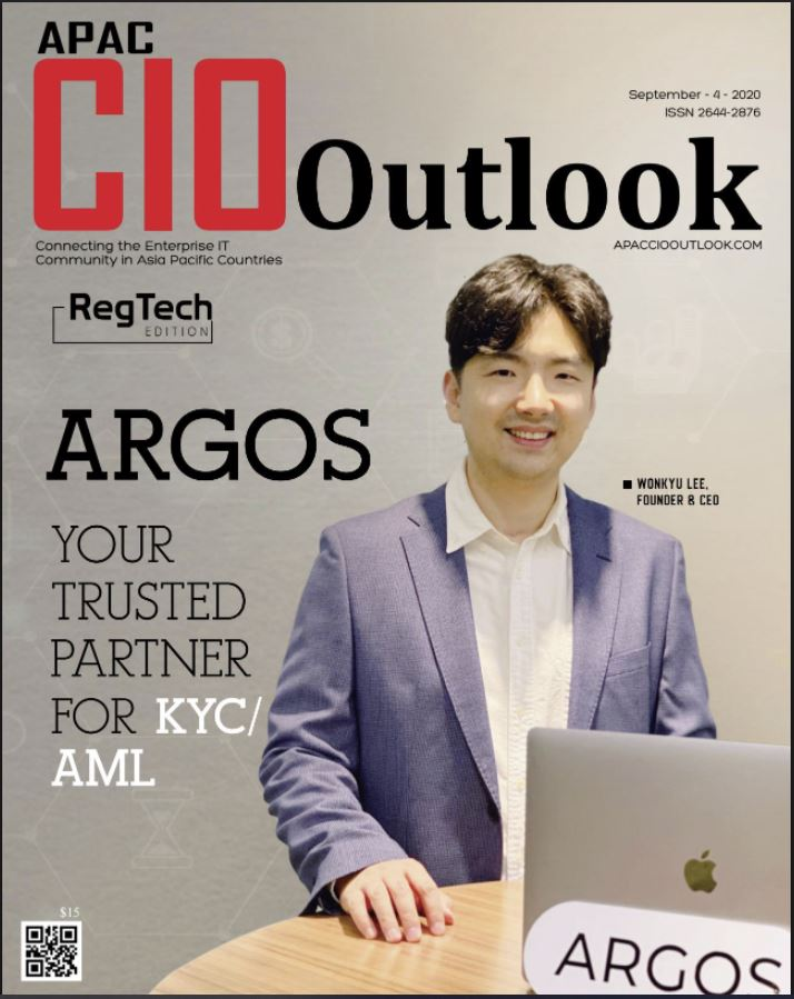 Argos KYC, APAC CIO Outlook Top 10 RegTech Solution Providers of the Year